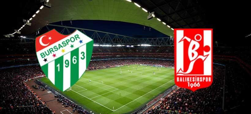 Bursaspor- Balıkesirspor Maçı Canlı izle
