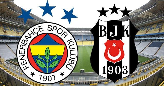 Fenerbahçe - Beşiktaş Maçı Canlı izle
